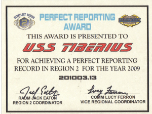 2009 Region Two Reporting Award