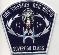 USS Tiberius Chapter Patch