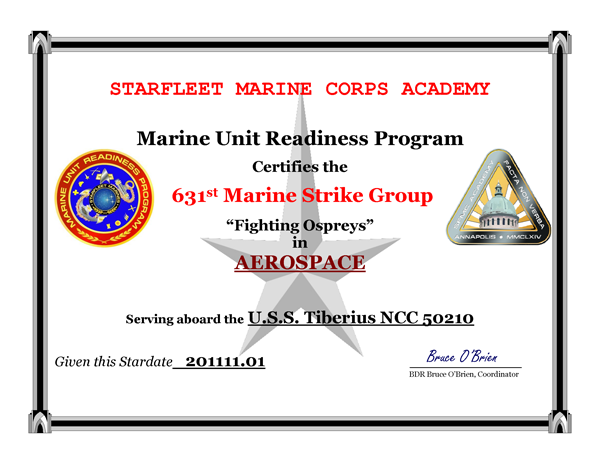 2011 Marine Aerospace Unit Readiness Award